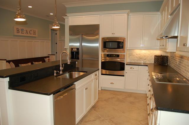 Gulf Trace beach-style-kitchen