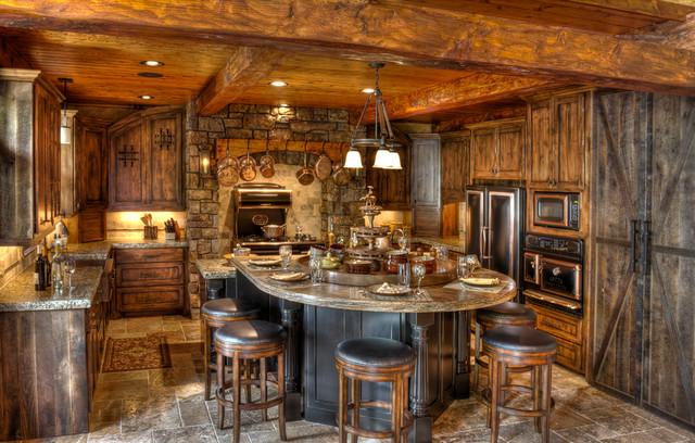 Gull Lake Kitchen traditional-kitchen