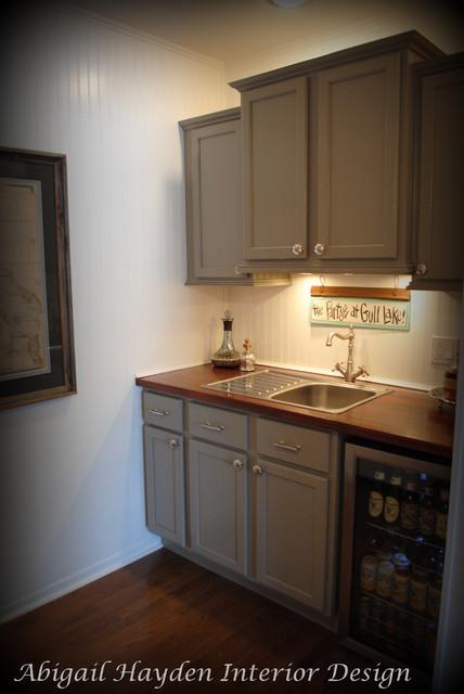 Gull Lake Cottage beach-style-kitchen
