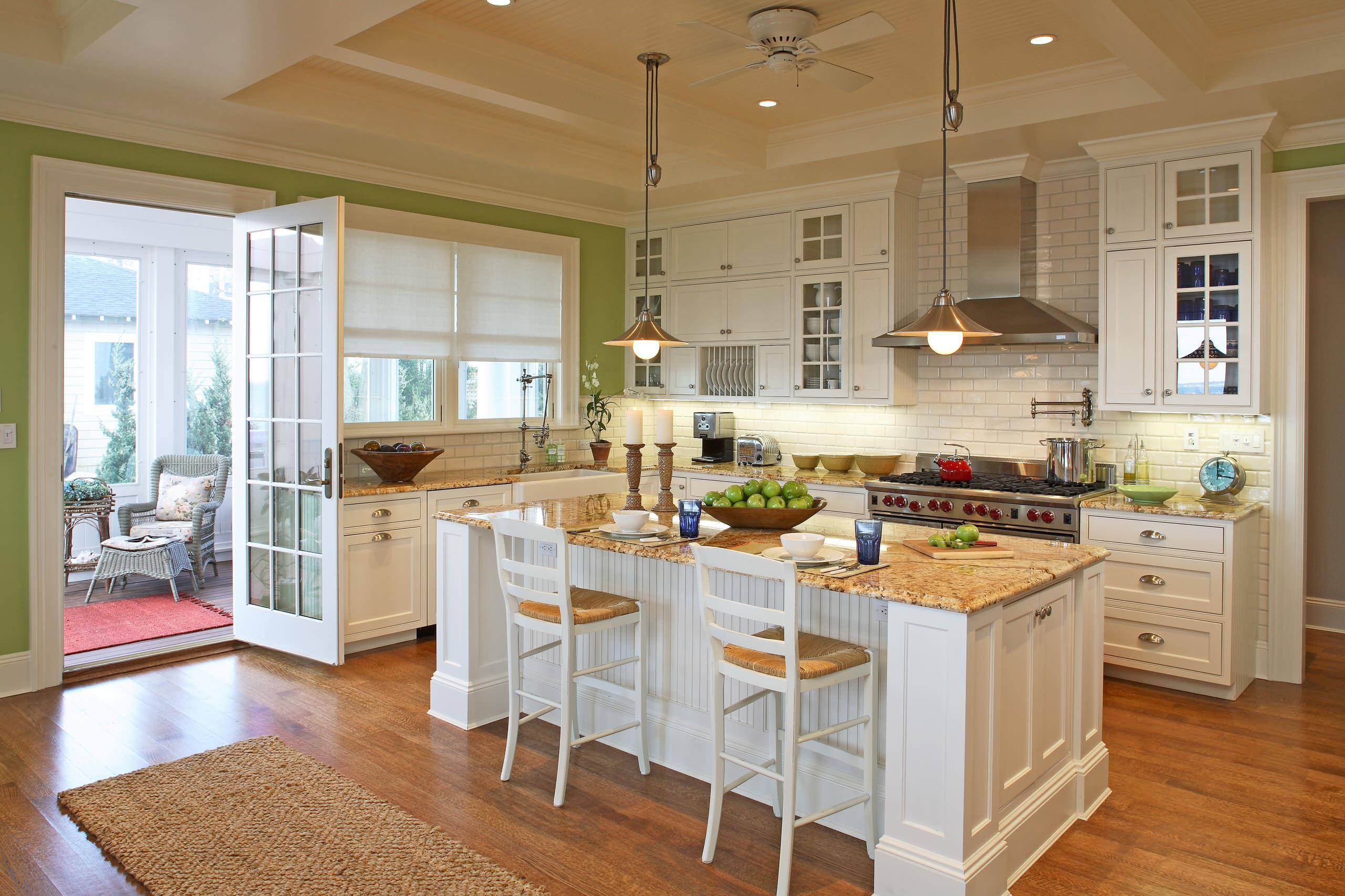 Sunroom Kitchen  Houzz