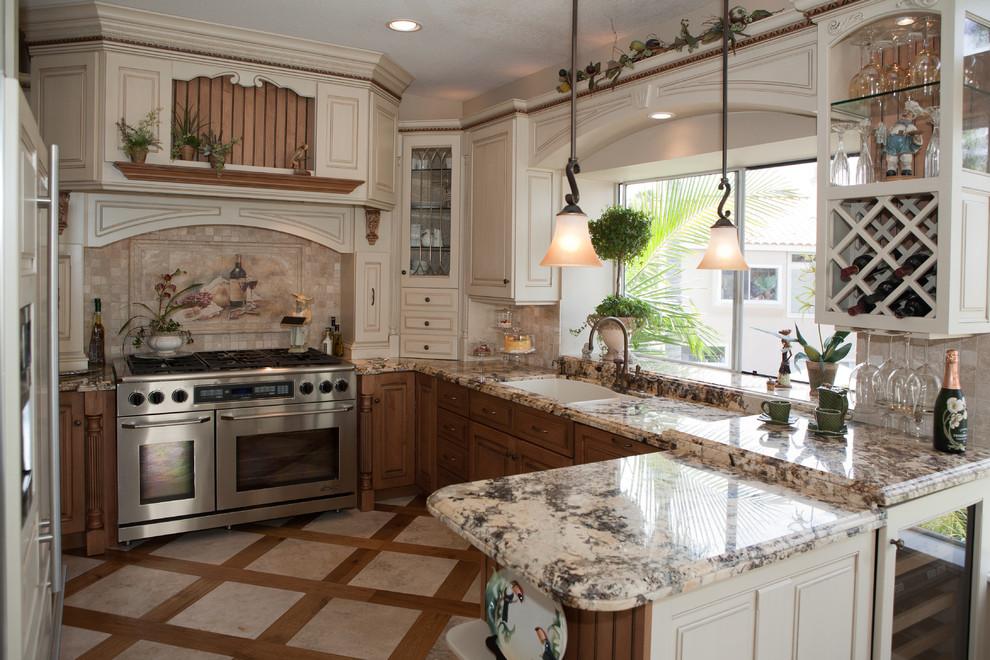 Gwen Long Beach Mediterranean Kitchen Orange County By Kitchen Cabinets Beyond
