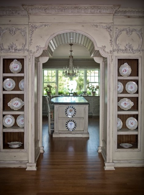 Habersham Kitchen Island traditional-kitchen