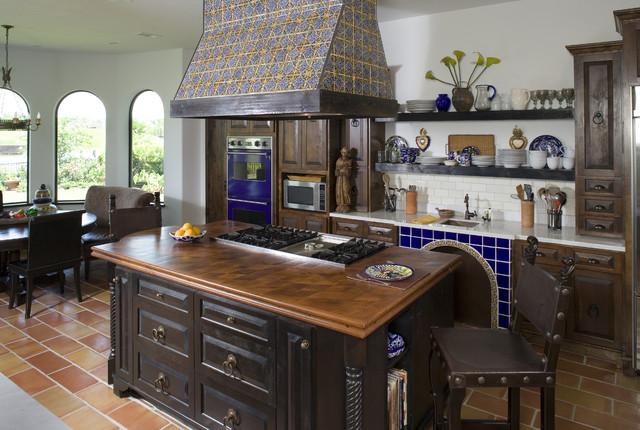 Hacienda Kitchen mediterranean-kitchen