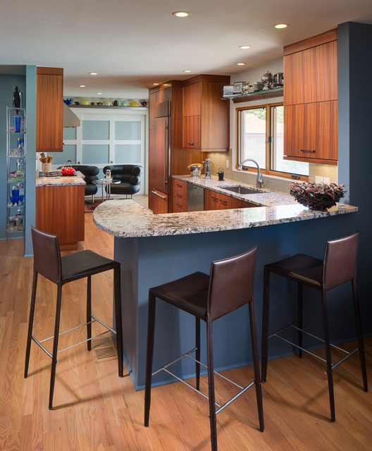 Hacienda Modern Kitchen Albuquerque By Marc Coan Designs