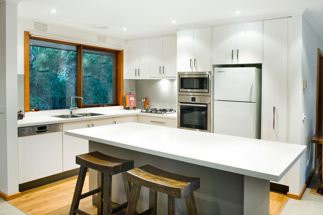 contemporary modern kitchens hacketts rd olinda modern kitchen melbourne by 2537