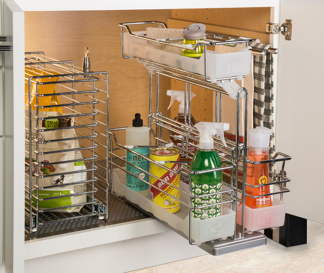 Hafele Cabinet Storage - Basket Pull-Out - Contemporary - Kitchen - Other - by Hafele America Co.