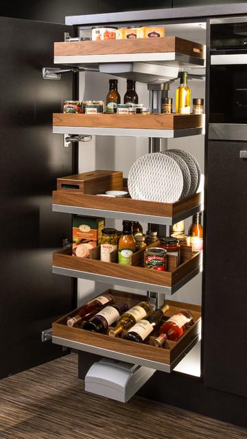 Hafele Convoy Premio Storage System Modern Kitchen