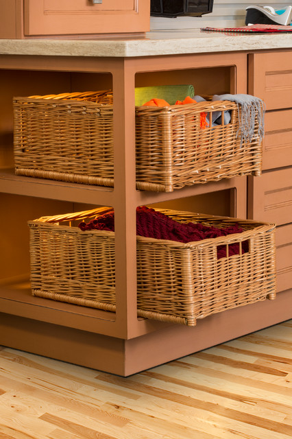 Häfele Wicker Baskets Traditional Kitchen