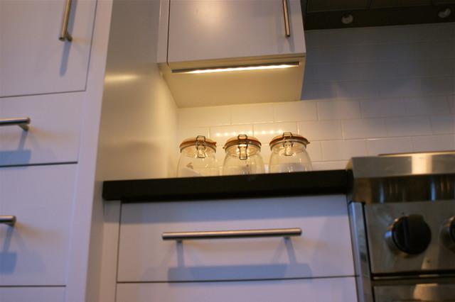 Hafele Led Undercabinet Lights - Modern - Kitchen - New York
