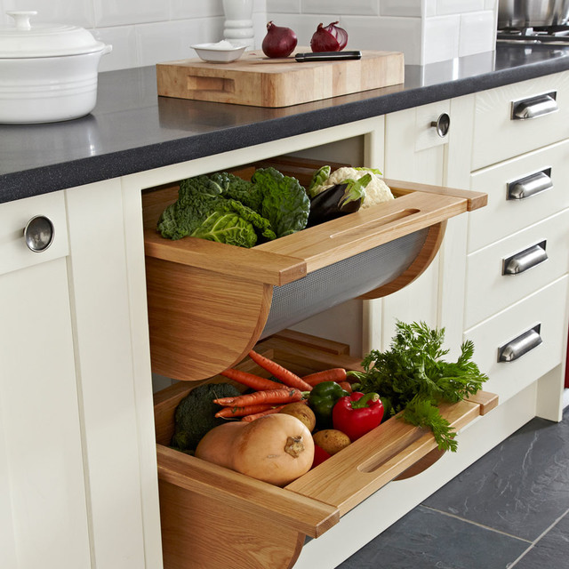 Hafele Pull Out Vegetable Baskets Contemporary Kitchen