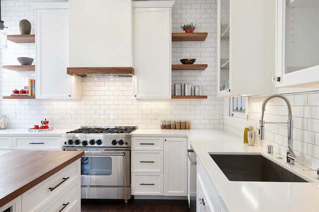 Haight Ashbury Residence traditional-kitchen