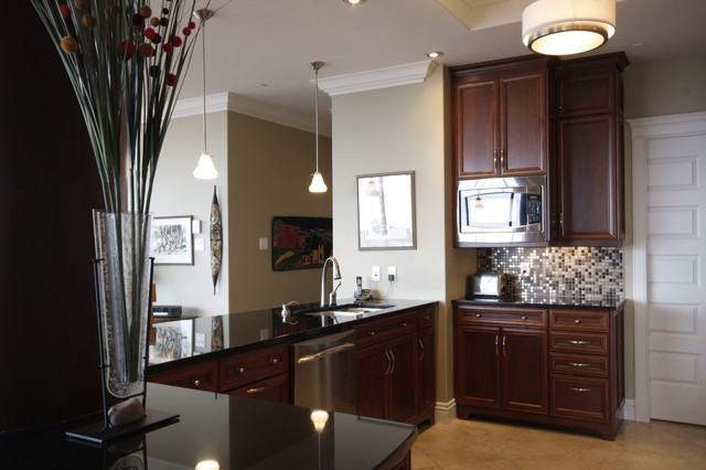 Halifax Condo B1 Traditional Kitchen Other Metro By Doucet Watts And Davis Interiors