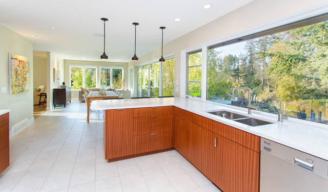 hall renovation contemporary kitchen vancouver by