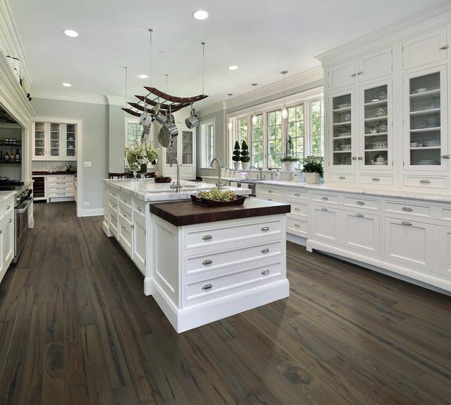 Attirant Hallmark Floors | Heirloom Autumn Stone Engineered Hardwood  FlooringTransitional Kitchen, Chicago