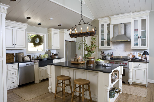 Hallvick Kitchen Remodel Traditional Kitchen Atlanta By - How to decorate a kitchen island