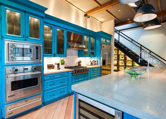 Hamilton - Eclectic Industrial industrial-kitchen