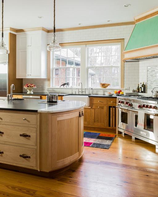 Hamilton Farm House Traditional Kitchen Boston By