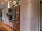 contemporary kitchen Get the Look of a Built in Fridge for Less (9 photos)
