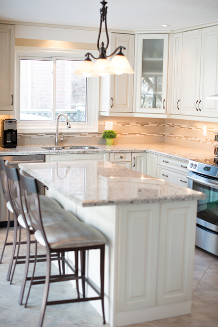 Hamilton Kitchen Transitional Kitchen Toronto By Ridgeway Kitchens Design Ltd