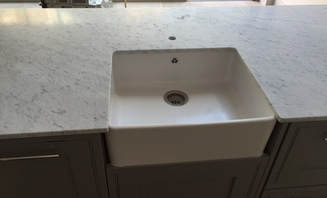 Hammersmith Apartment In Bianco Carrara Marble 20mm