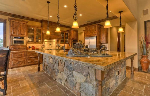 Hammond Ranch traditional kitchen