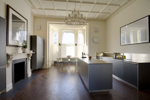 Contemporary Kitchen by London Architects & Building Designers STEPHEN FLETCHER ARCHITECTS