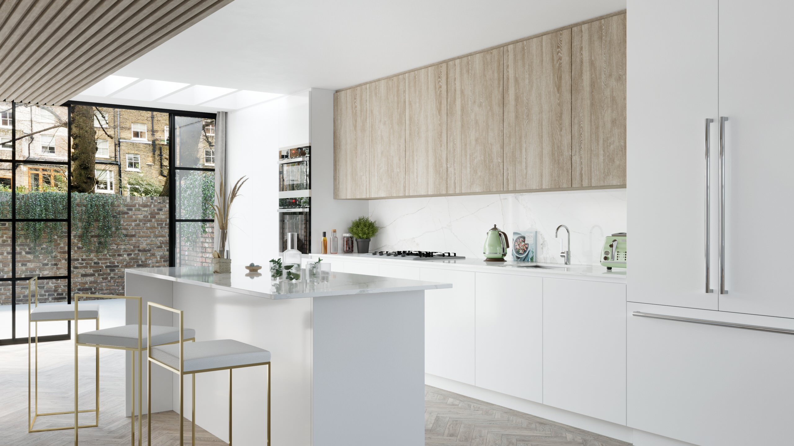 Hampstead house - Option 1