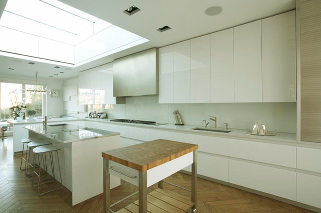 Hampstead House contemporary-kitchen