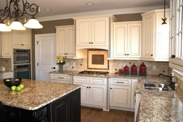 Hampton linen traditional kitchen other metro by for Kitchen cabinets houzz
