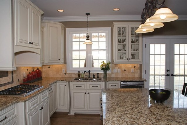 Hampton Linen - Traditional - Kitchen - other metro - by Quality Stone Concepts