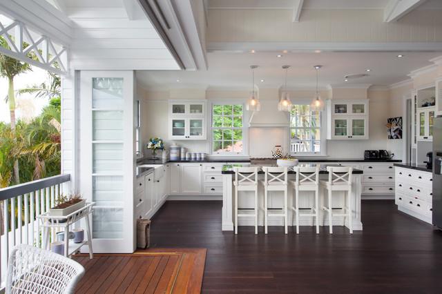 Hampton style interior design - Coastal - Kitchen - Brisbane - by ...