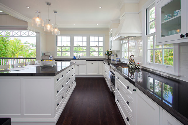 Hampton Style Interior Design Beach Style Kitchen