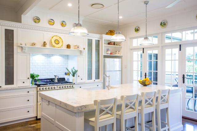 Hampton Style kitchen Sherwood Traditional Kitchen  : traditional kitchen from www.houzz.com size 640 x 426 jpeg 86kB