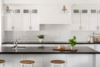 Hamptons Applecross Kitchen Perth By Oswald Homes