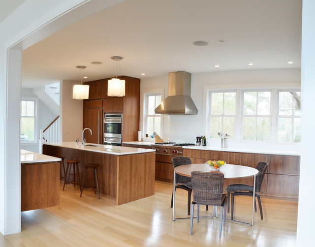 Hamptons House contemporary-kitchen