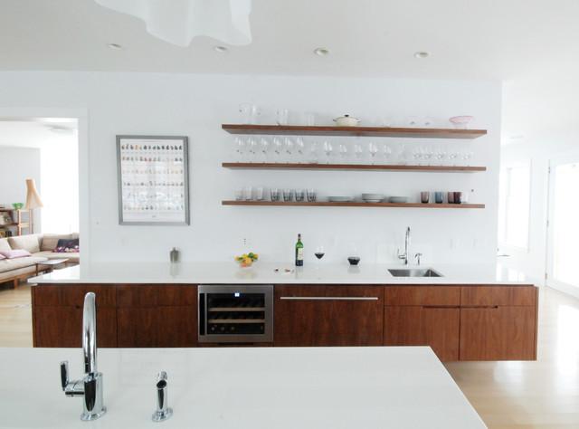 Hamptons House contemporary-kitchen