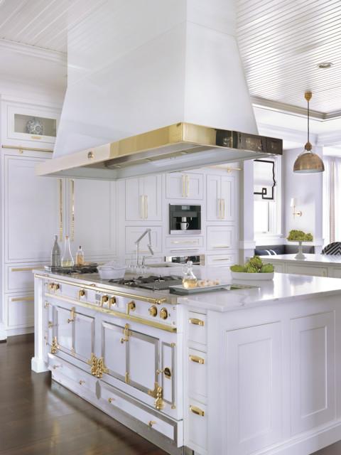 Hamptons-Inspired Frontenac Residence - Klassisch - Küche - St ...