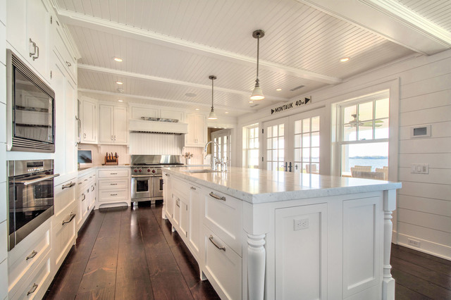 Hamptons Kitchen Beach Style Kitchen New York By Hamptons Habitat Ent