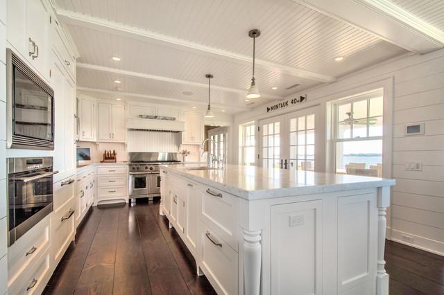 Hamptons Kitchen - Maritim - Kök - New York - av Hamptons Habitat ...