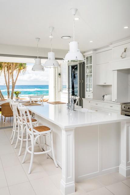 Hamptons Project Beach Style Kitchen Gold Coast Tweed By Castella Fine Architectural Hardware Houzz Au