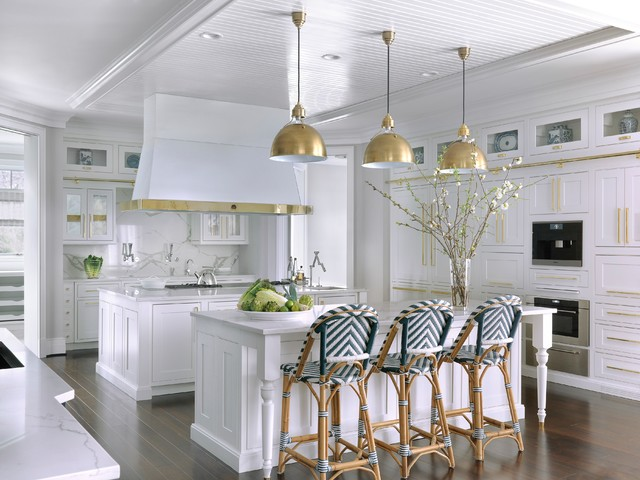 Hampton S Style House Traditional Kitchen St Louis By Mitchell Wall Architecture Amp Design