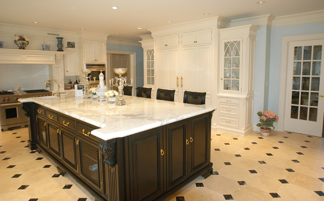 Hand Painted Kitchen Traditional