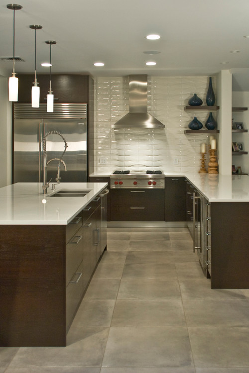 Hot Home Trend: Go Big With Your Tile