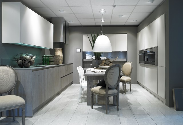 moderne schroder kuchen, handleless kitchen by schröder küchen - moderne - cuisine - londres, Design ideen