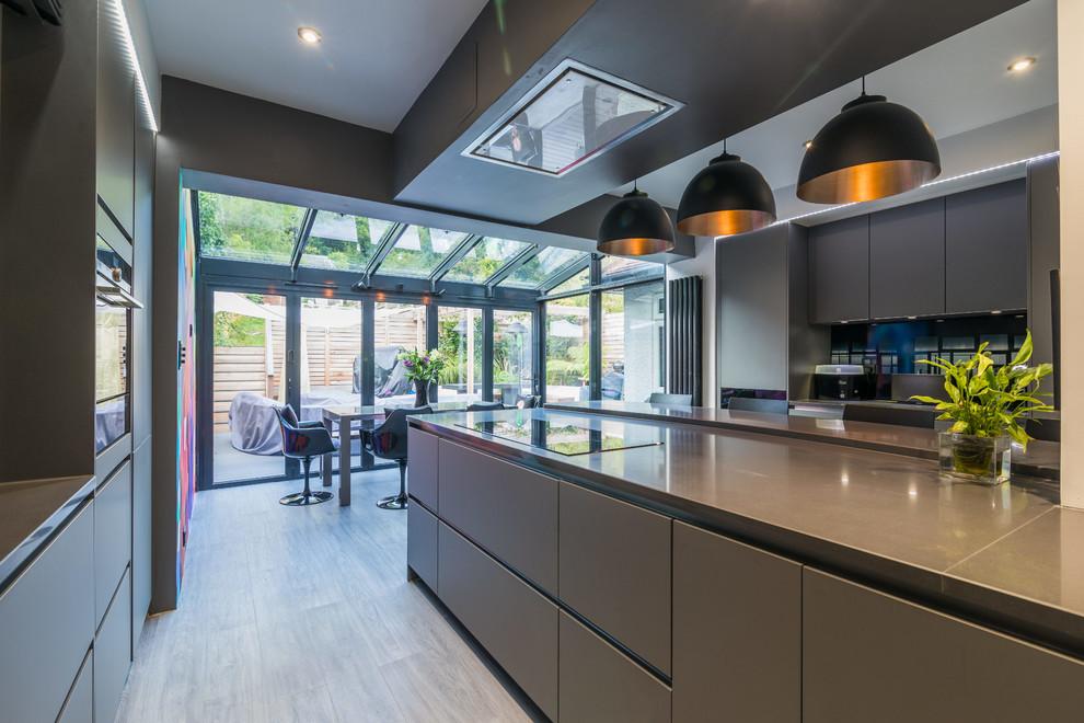 Handleless Kitchen Ideas Modern Kitchen London By Lwk London Kitchens Houzz