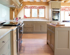 Painted Classic English traditional-kitchen