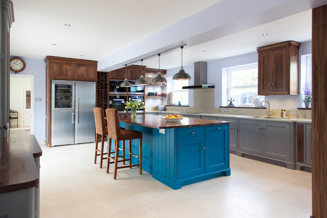 Handmade Bespoke Kitchen - Lakehouse 'Grove' contemporary-kitchen