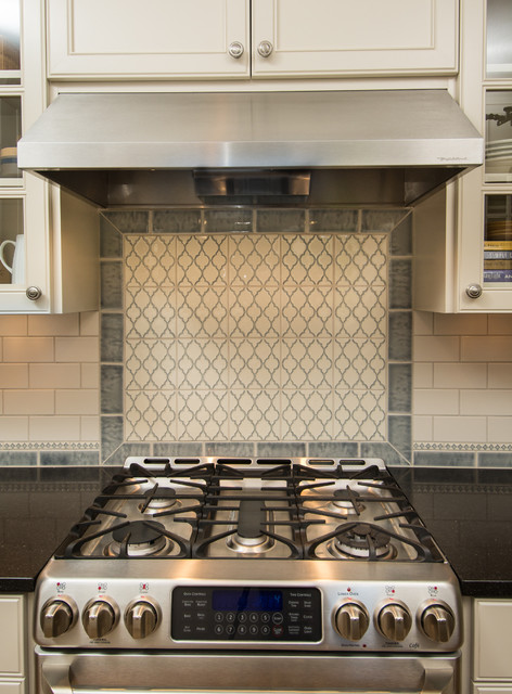 Handmade Tile Backsplash Traditional Kitchen Portland By
