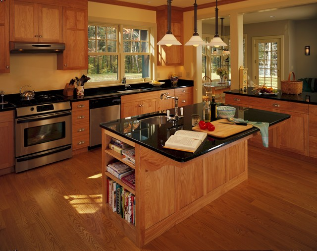 Hanover New Hampshire Wooded Residence Traditional Kitchen