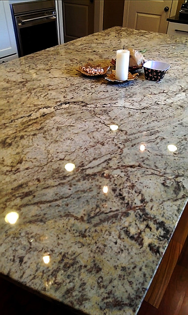 Happy Valley Kitchen Remodel Sienna Bordeaux Granite